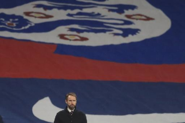 Le sélectionneur anglais Gareth Southgate dévoile une première liste de 33 noms pour l'Euro