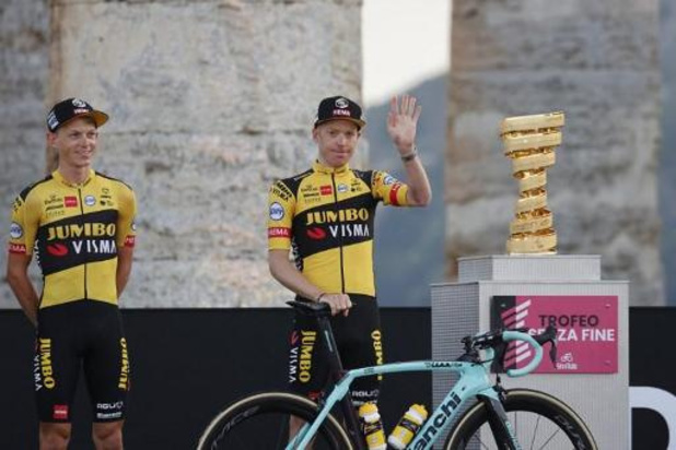Jumbo-Visma trekt zich terug uit etappe Giro na positieve coronatest van Kruijswijk