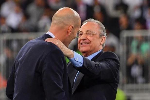 Florentino Perez, président du Real Madrid, officiellement candidat à sa réélection