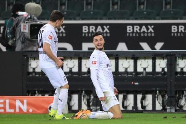 Bundesliga - Dortmund gaat zonder Belgen de boot in bij Borussia Mönchengladbach