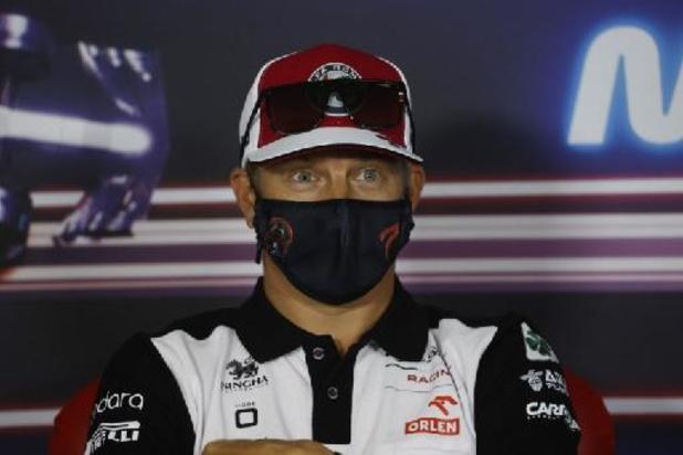 Kimi Räikkönen zet punt achter Formule 1-carrière na dit seizoen
