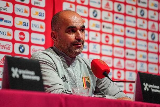 """Martinez wil tegen Wit-Rusland sleutelen aan basiselftal: """"Frisse energie nodig"""""""