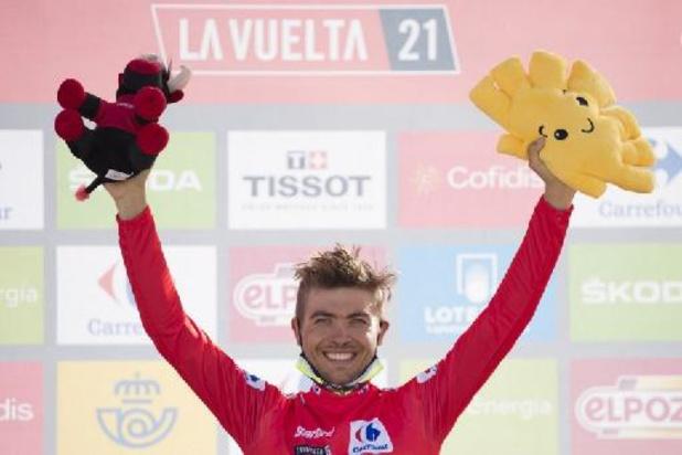 Rafal Majka wint vijftiende etappe Vuelta, Odd Christian Eiking houdt rood