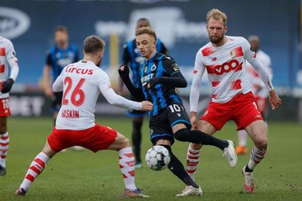 Un duel entre le Standard et le Club de Bruges à l'affiche des quarts de finale