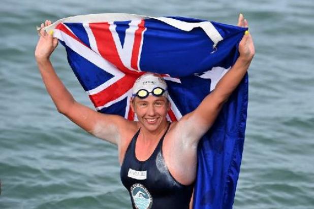 Australische zwemt voor 44ste keer over Kanaal en vestigt record