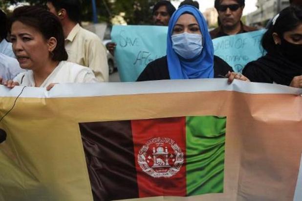 Taliban zullen niet meer toestaan dat Afghanen naar luchthaven Kaboel gaan