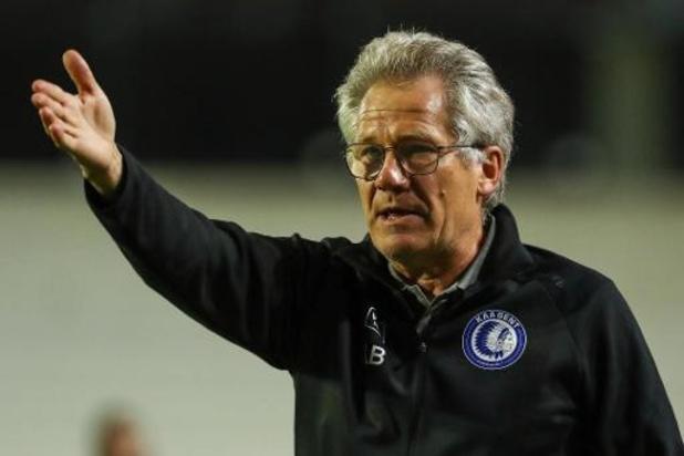 Jupiler Pro League - Laszlo Bölöni debuteert bij AA Gent met 1-0 nederlaag bij zijn ex-club Antwerp