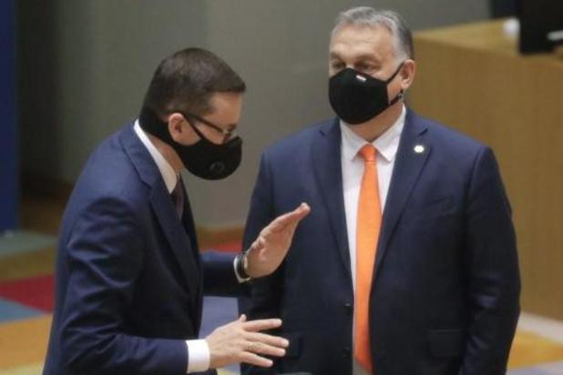 Europese leiders vinden uitweg voor Hongaars-Poolse crisis