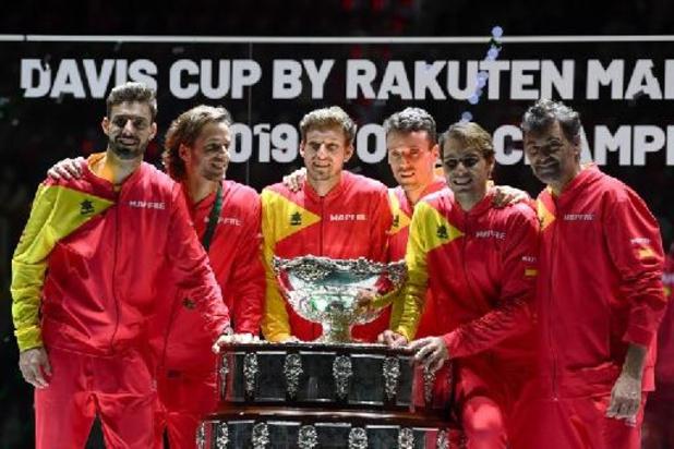 La phase finale de la Coupe Davis à Madrid, Innsbrück et Turin