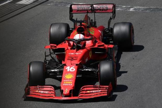 Charles Leclerc en pole position