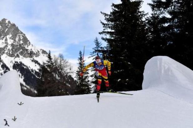 Florent Claude 34e du sprint d'Oberhof remporté par Johannes Boe