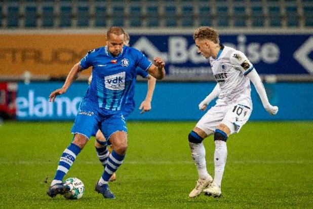 AA Gent/Club Brugge en Genk/Anderlecht kleuren affiche zesde speeldag