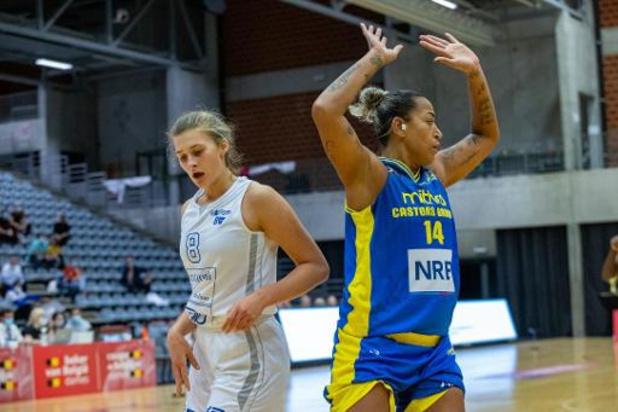 Basket (dames) - Castors Braine se fait peur et émerge sur le fil pour gagner sa 5e Coupe de Belgique