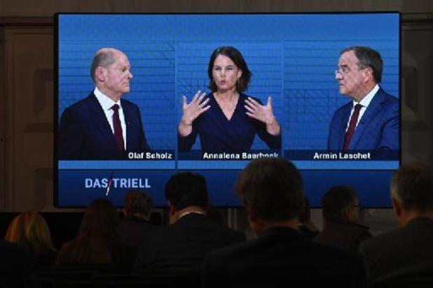 Verkiezingen Duitsland - CDU-kandidaat sluit ondergeschikte rol in SPD-regering niet uit