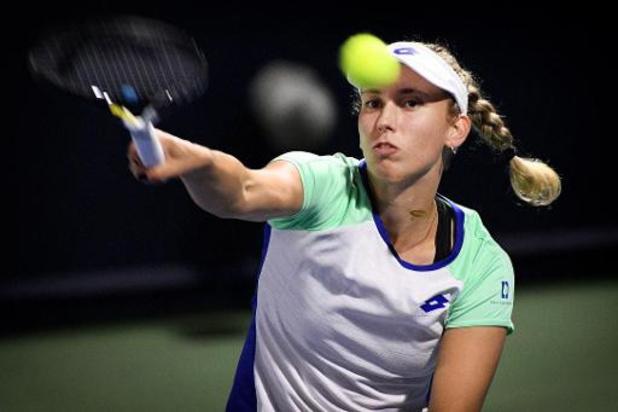 Tenante du titre, Elise Mertens est éliminée dès le 2e tour à Doha