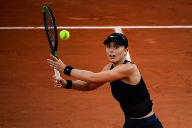Paula Badosa staat voor het eerst in kwartfinales grandslamtoernooi
