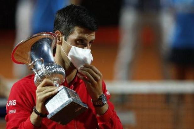 """ATP Rome - Voor Novak Djokovic blijft Rafael Nadal """"favoriet nummer één"""" op Roland Garros"""