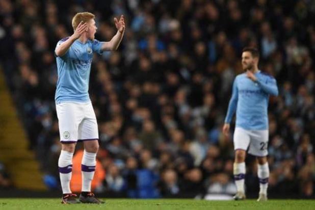 Les Belges à l'étranger - De Bruyne perd le derby de Manchester avec City contre United, Raman buteur avec Schalke
