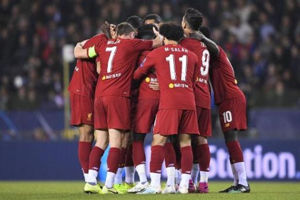 Champions League - Racing Genk ondergaat wet van de sterkste tegen Liverpool