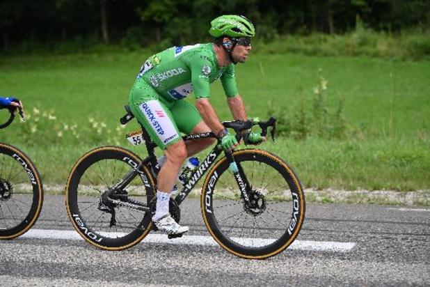 Troisième victoire sur ce Tour pour Cavendish, désormais à un seul succès d'Eddy Merckx