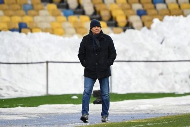 Europa League - L'entraîneur du Dynamo Lucescu s'attend à un Club de Bruges fort malgré le coronavirus