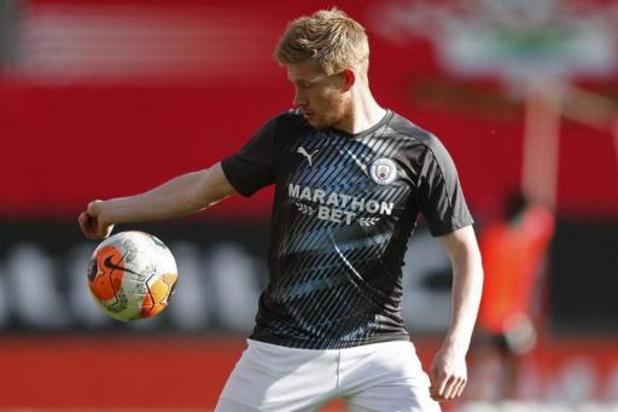 Les Belges à l'étranger - Manchester City, avec Kevin De Bruyne dans la dernière demi-heure, battu à Southampton