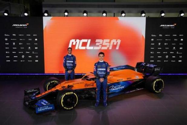 """McLaren veut """"se rapprocher"""" de son nouveau motoriste Mercedes cette année"""