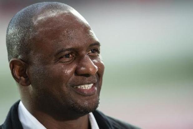 Patrick Vieira est le nouvel entraîneur de Crystal Palace