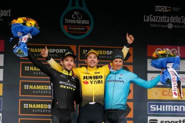 Tirreno-Adriatico - La Course des deux mers va préparer les classiques ardennaises et le Giro