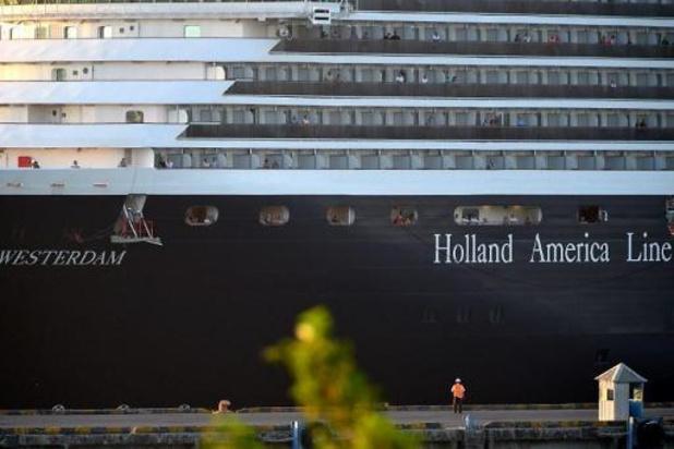 Coronavirus - Passagiers van het cruiseschip Westerdam mogen van boord