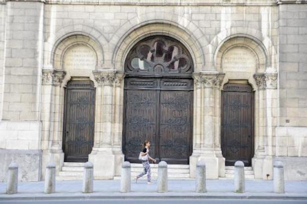 La police a réalisé un exercice de simulation de menaces à la synagogue de Bruxelles
