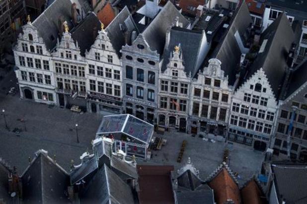 Negen personen betrapt op lockdownfeest in hartje Antwerpen