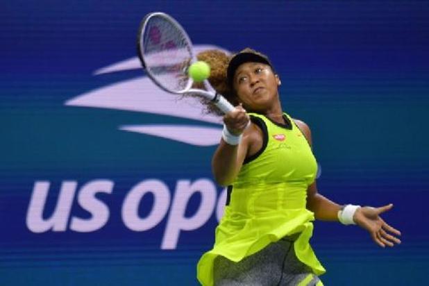 Naomi Osaka aborde la défense de son titre sans trembler à l'US Open