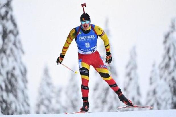 Florent Claude (22e) wordt eerste Belg in 10 km sprint, Zweed Ponsiluoma pakt goud