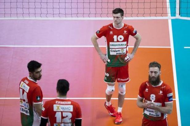 Coupe CEV (m) - Maaseik échoue en demi-finale face à Saint-Pétersbourg malgré cinq balles de match