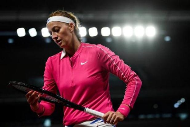 Kvitova mag naar tweede ronde