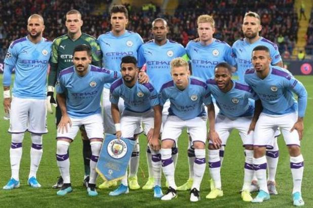 Fair play financier: Manchester City, exclu des Coupes d'Europe, en appel devant le TAS