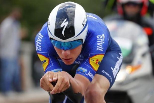 Giro - Evenepoel zevende bij comeback, eerste roze voor Ganna