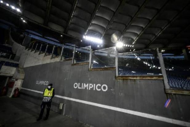 Coronavirus - Italianen willen vanaf 1 juni weer publiek toelaten bij sportwedstrijden