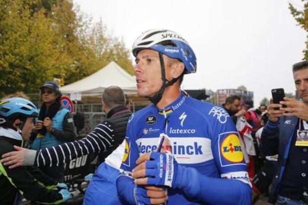 Philippe Gilbert emmènera l'équipe Deceuninck-Quick Step au Tour de Lombardie