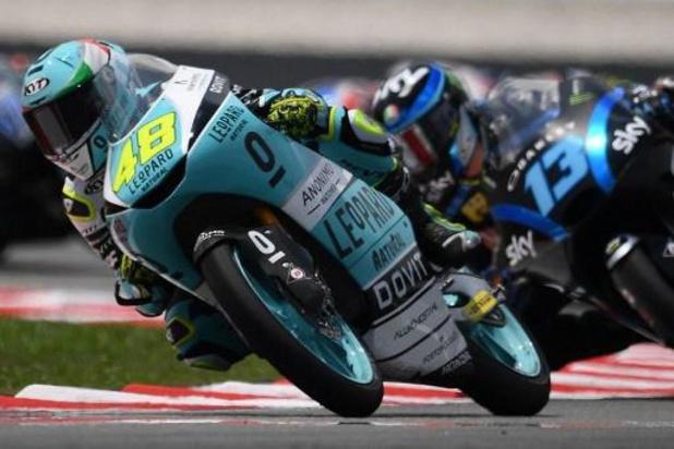 Moto3: Victoire du champion Lorenzo Dalla Porta en Malaisie