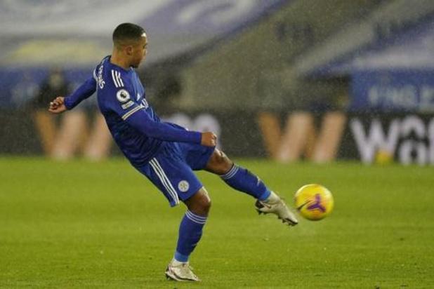 Les Belges à l'étranger - Leicester a écarté Brighton (3-0) et revient à un point du duo de tête