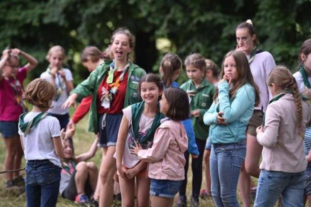 Scouts et Guides satisfaits d'être fixés pour les camps d'été