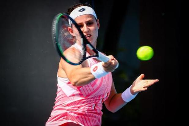 """WTA Lyon - Minnen, battue par Golubic: """"J'ai eu des occasions dans ce deuxième set"""""""