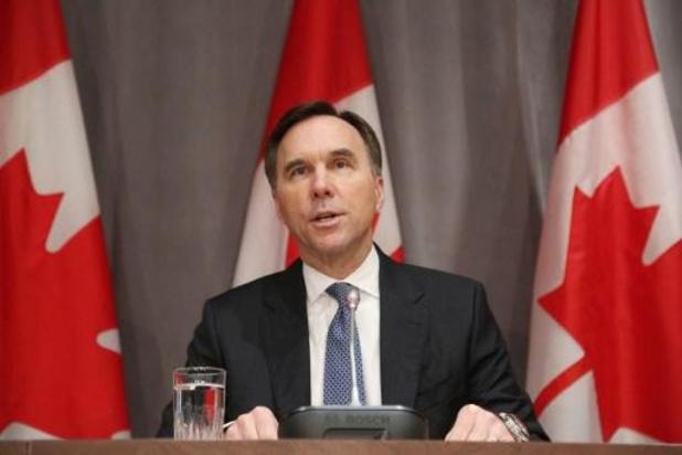 Canadese minister van Financiën stapt op