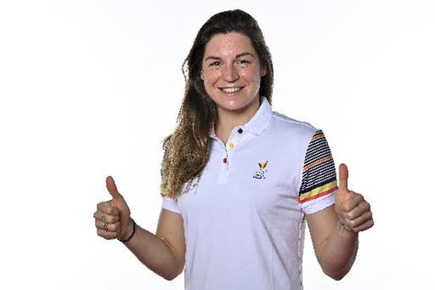 Fanny Lecluyse bat son record national du 200 m brasse à Rome