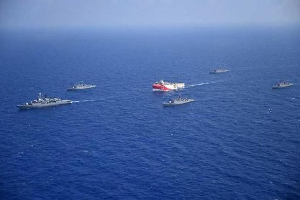 Erdogan promet d'intensifier l'exploration énergétique en Méditerranée orientale