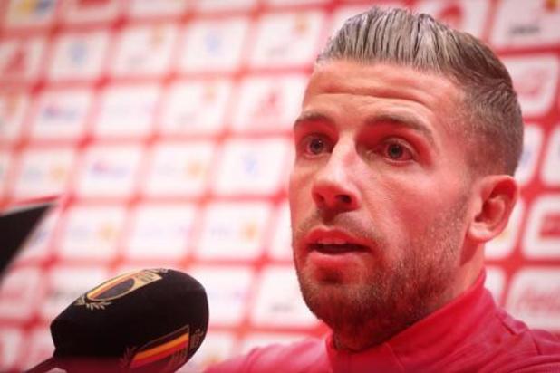 """Europa League - Toby Alderweireld est impatient de jouer au Bosuil : """"Un sentiment très particulier"""""""