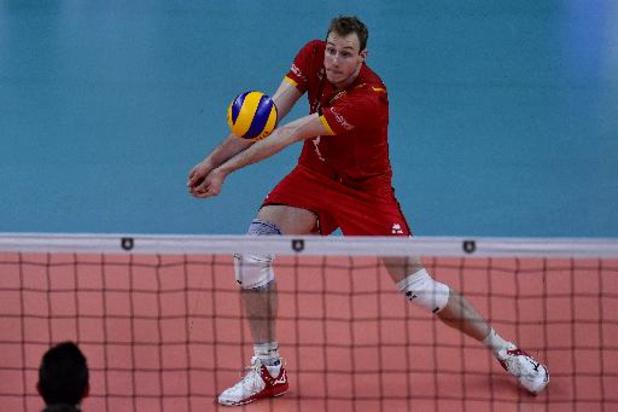 EK volley (m) - Red Dragons boeken broodnodige zege tegen Griekenland