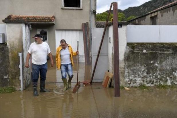 France: fin des pluies torrentielles, recherches pour retrouver une disparue dans le Gard